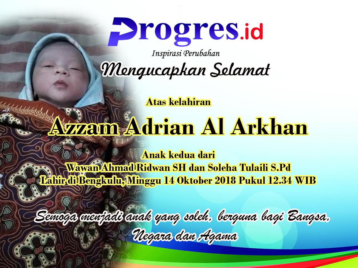 Selamat Kelahiran Azzam